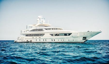 motor yacht sea trials italy