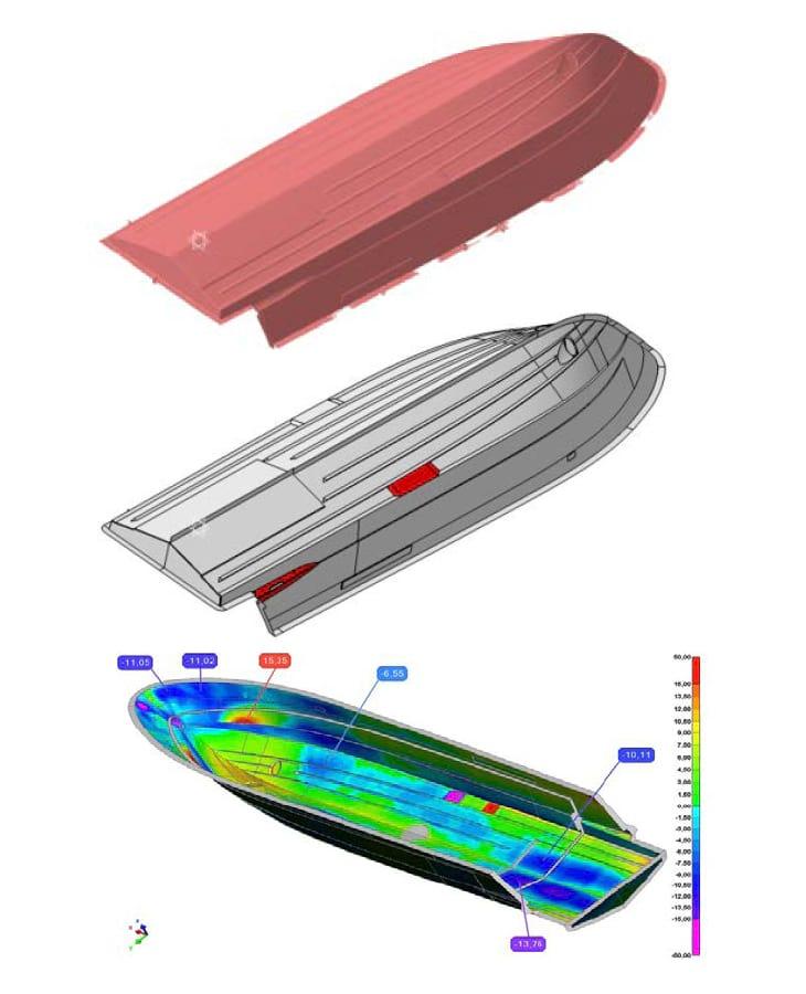 3d scan per yacht sailadv italia
