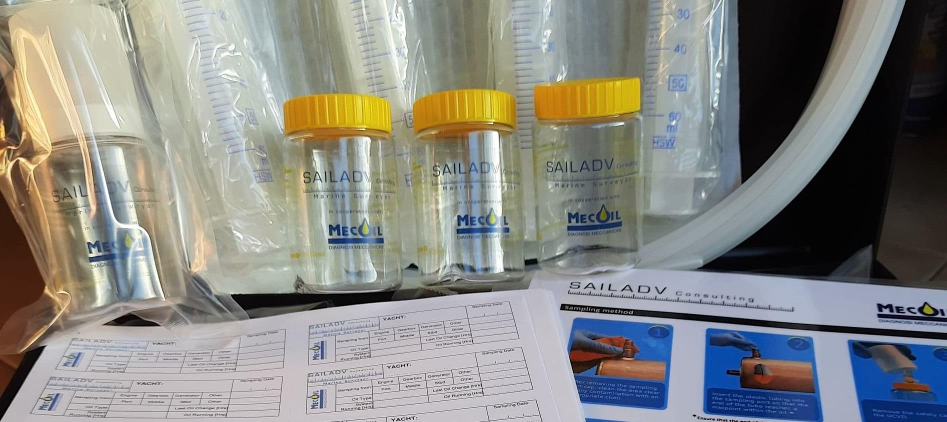 yacht laboratory analysis engine oils